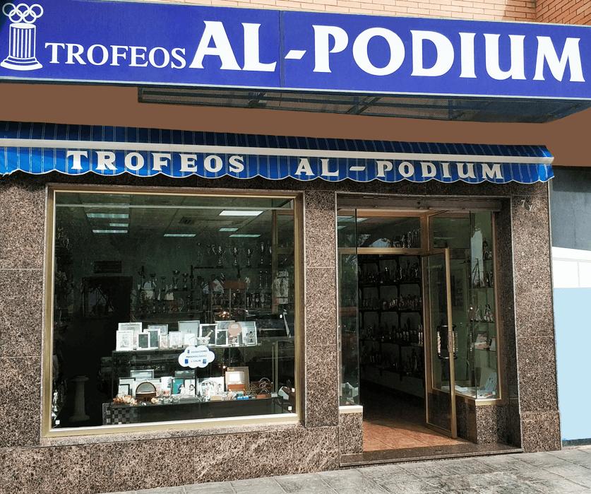 Imagen fachada Trofeos Al-Podium